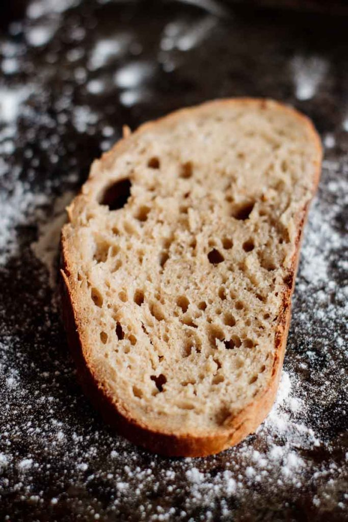a bred baked using all the bread making secrets of this post