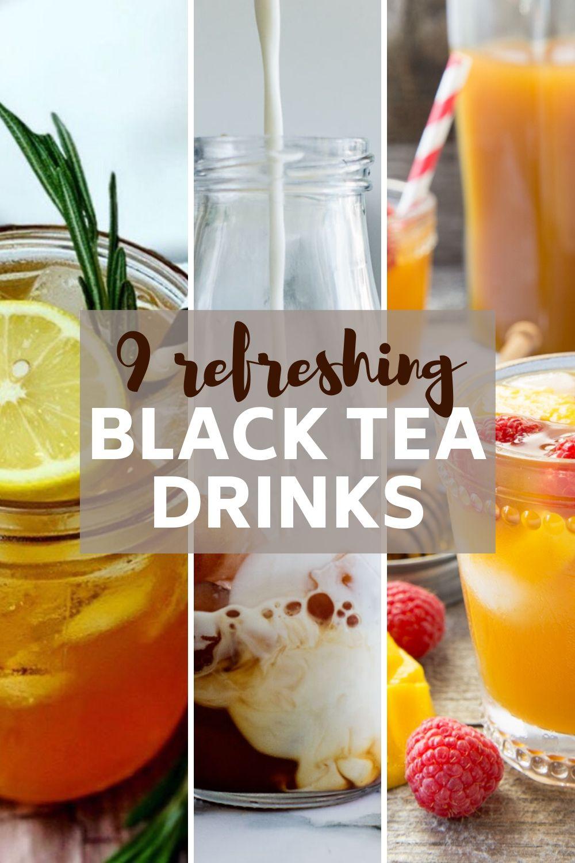 black tea recipes for summer pin image
