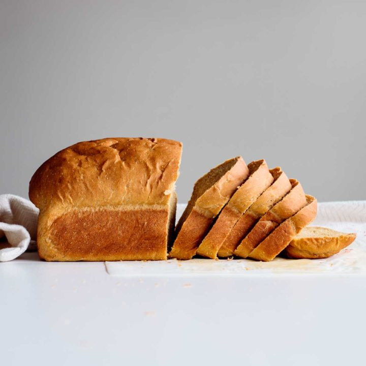 dairy free bread sliced