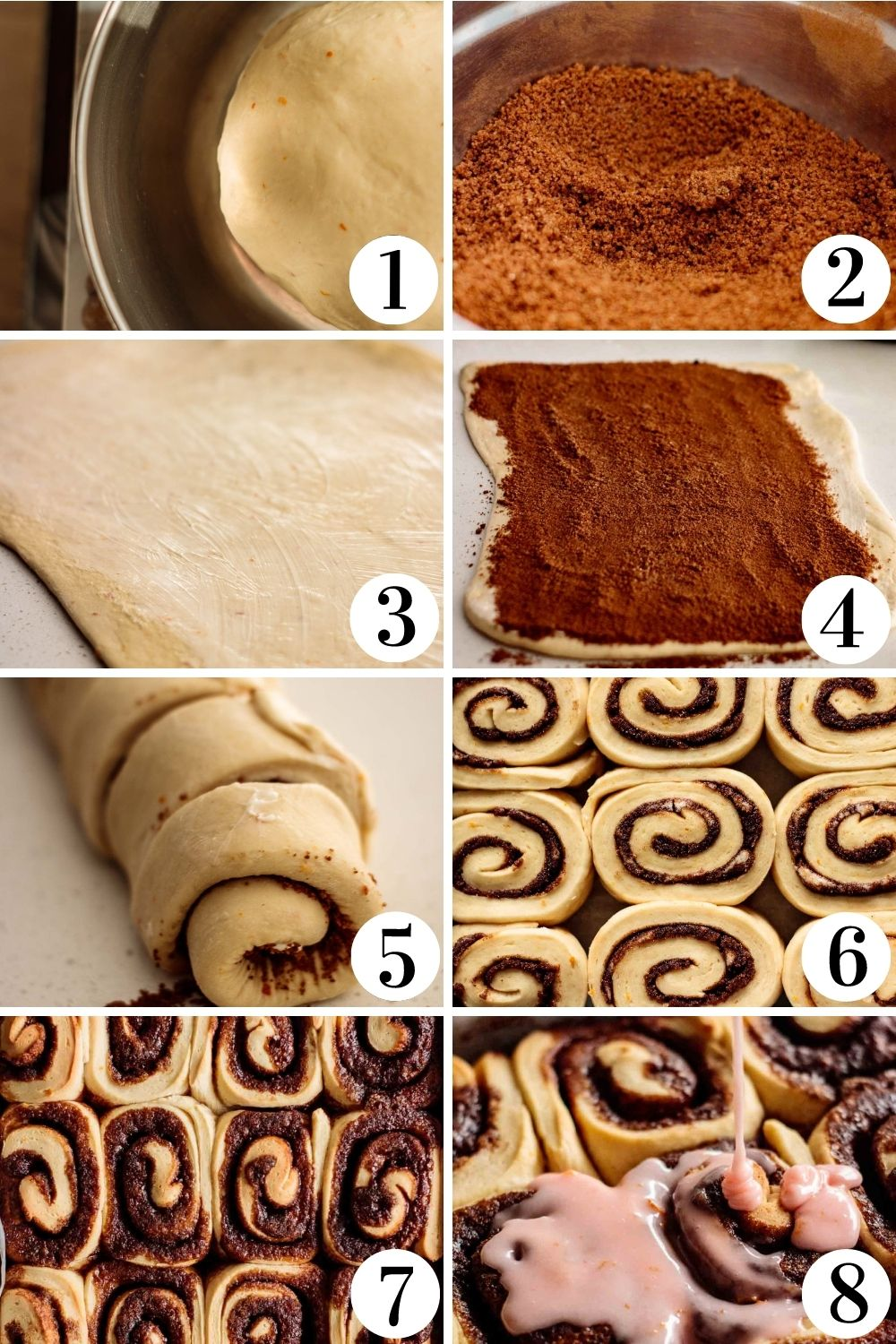 step by step collage of how to make this recipe