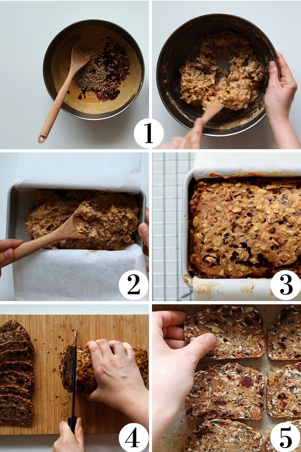 step by step collage of this recipe