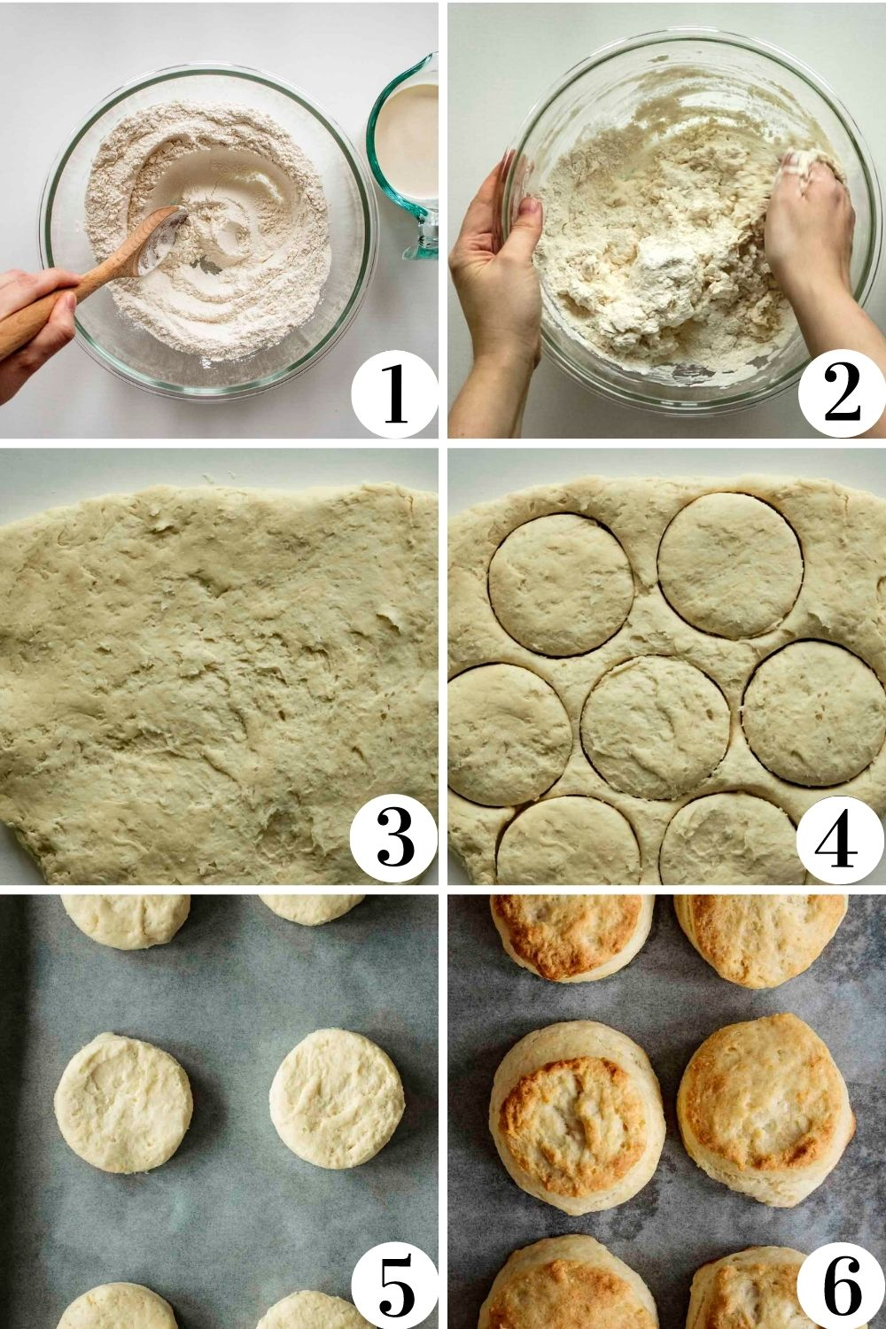 Collage of how to make this recipe.