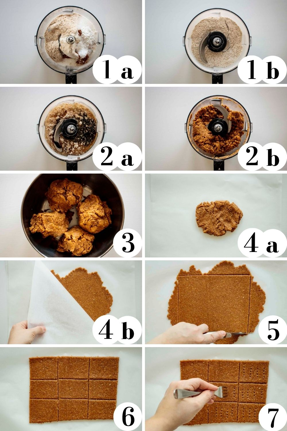 Collage with all the steps of how to make this recipe.